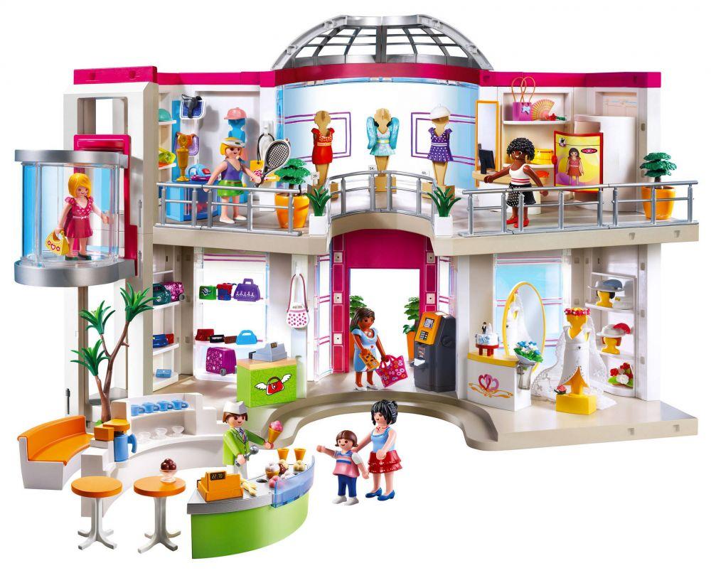 PLAYMOBIL City Life 5485 pas cher - Grand magasin aménagé 6c67bc1d9fa5