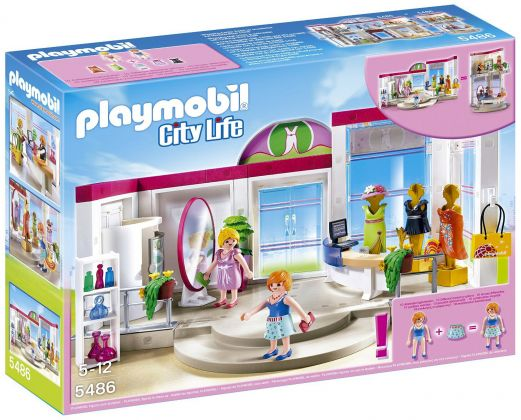 PLAYMOBIL City Life 5486 Boutique de vêtements