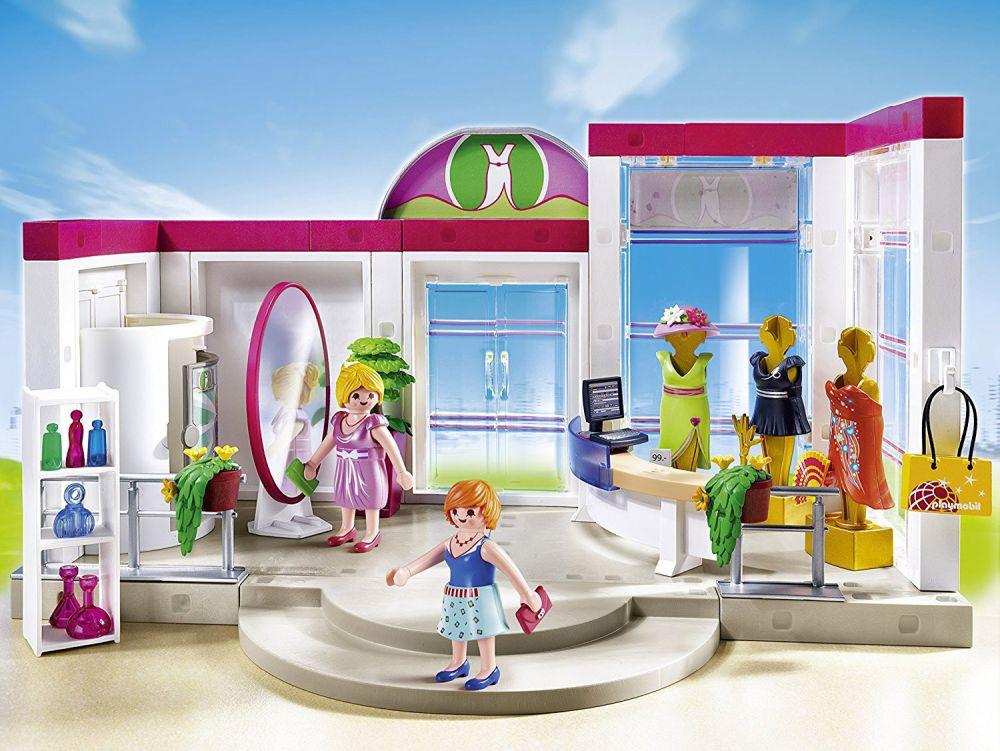 PLAYMOBIL City Life 5486 pas cher - Boutique de vêtements e4d16d7b1ff7