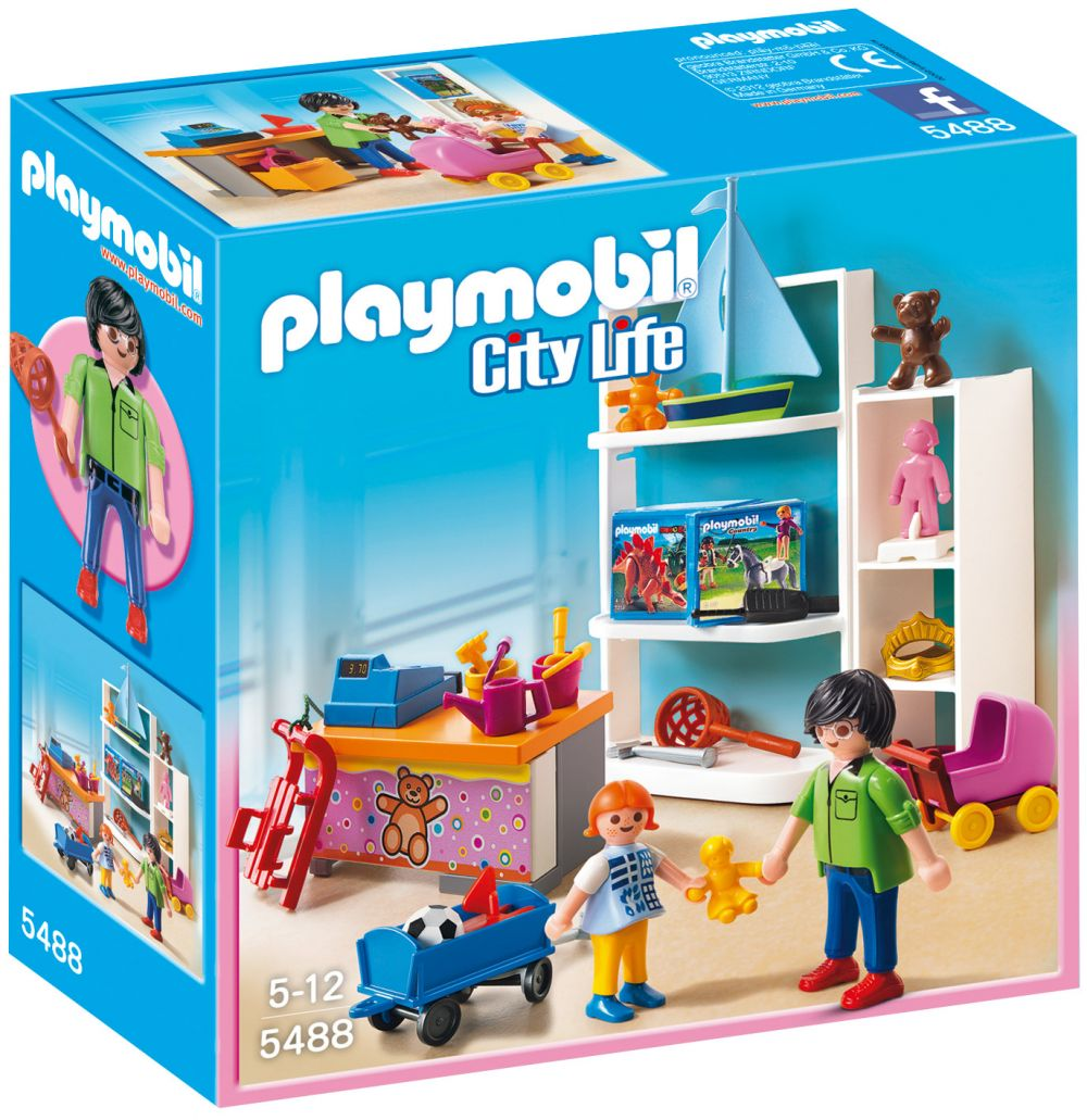 PLAYMOBIL City Life 5488 pas cher - Magasin de jouets 791211dc9c83