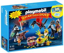 PLAYMOBIL Dragons 5493 Calendrier de l'Avent - Trésor royal du dragon asiatique