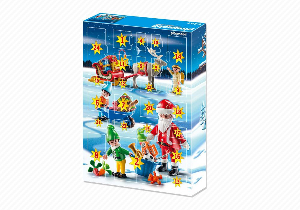playmobil christmas 5494 pas cher calendrier de l 39 avent atelier de jouets avec p re no l et. Black Bedroom Furniture Sets. Home Design Ideas