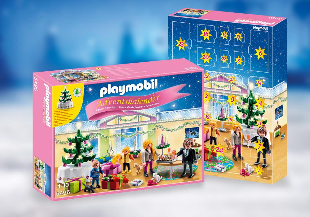 playmobil christmas 5496 pas cher calendrier de l avent r veillon de no l. Black Bedroom Furniture Sets. Home Design Ideas