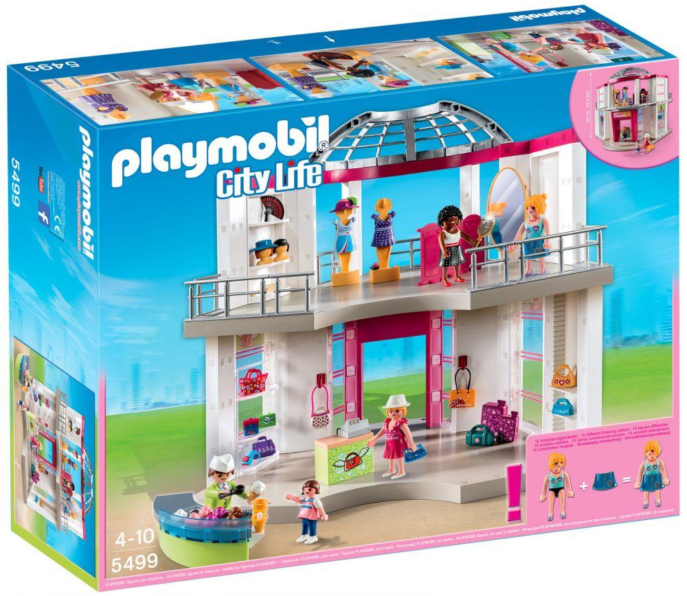 PLAYMOBIL City Life 5499 pas cher - La boutique de mode 31890ddcb3ce