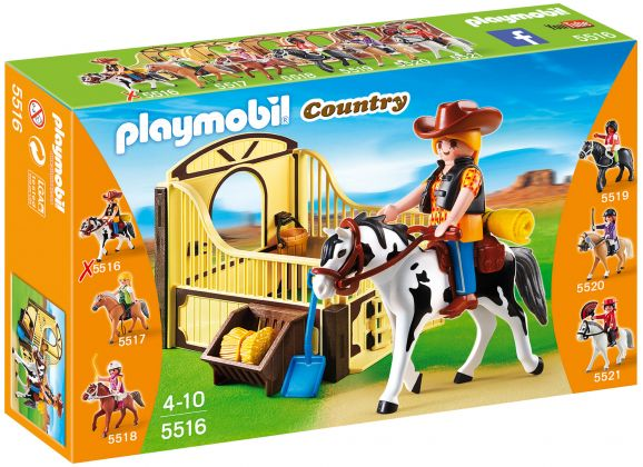 PLAYMOBIL Country 5516 Cheval et aventurière