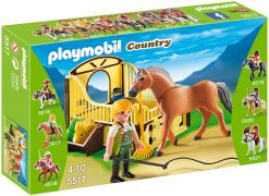 PLAYMOBIL Country 5517 - Cheval Fjord et monitrice pas cher