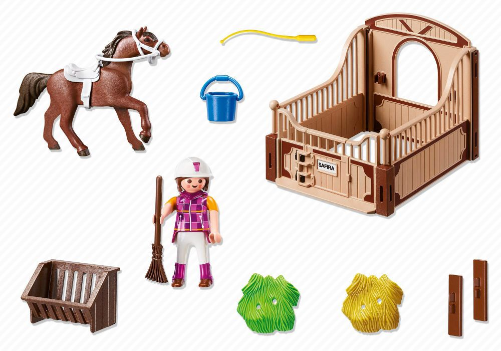 playmobil country 5518 pas cher cheval shagya et cavali re. Black Bedroom Furniture Sets. Home Design Ideas