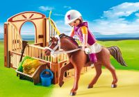PLAYMOBIL Country 5518 Cheval Shagya et cavalière