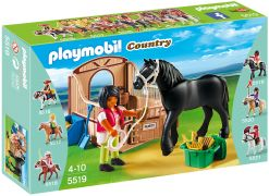 PLAYMOBIL Country 5519 Cheval Frison et écuyère