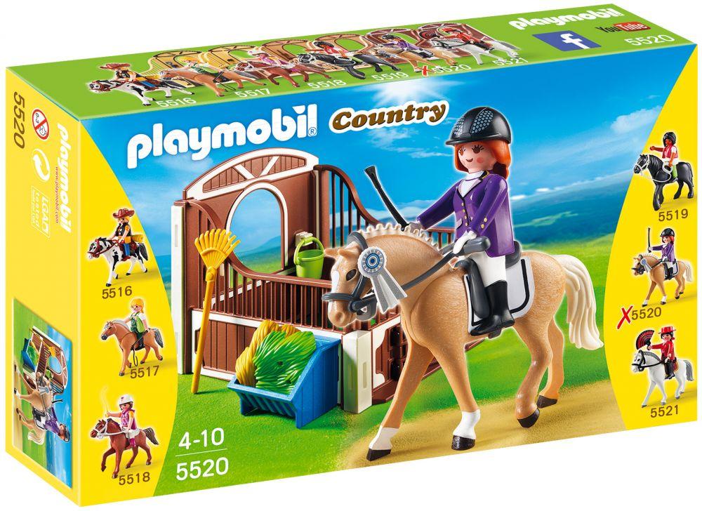 playmobil country 5520 pas cher cheval warmblood et. Black Bedroom Furniture Sets. Home Design Ideas