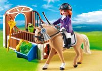 PLAYMOBIL Country 5520 Cheval Warmblood et cavalière
