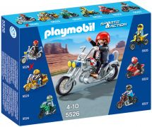 PLAYMOBIL Sports & Action 5526 Chopper bleu