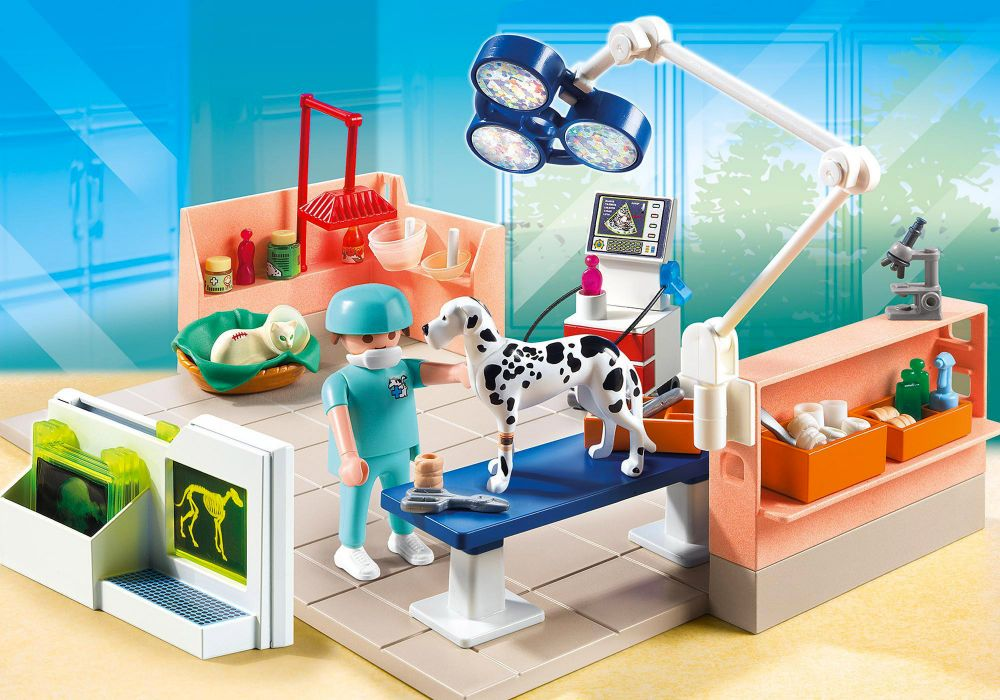 playmobil city life 5530 pas cher chirurgien v t rinaire et salle d 39 op ration. Black Bedroom Furniture Sets. Home Design Ideas