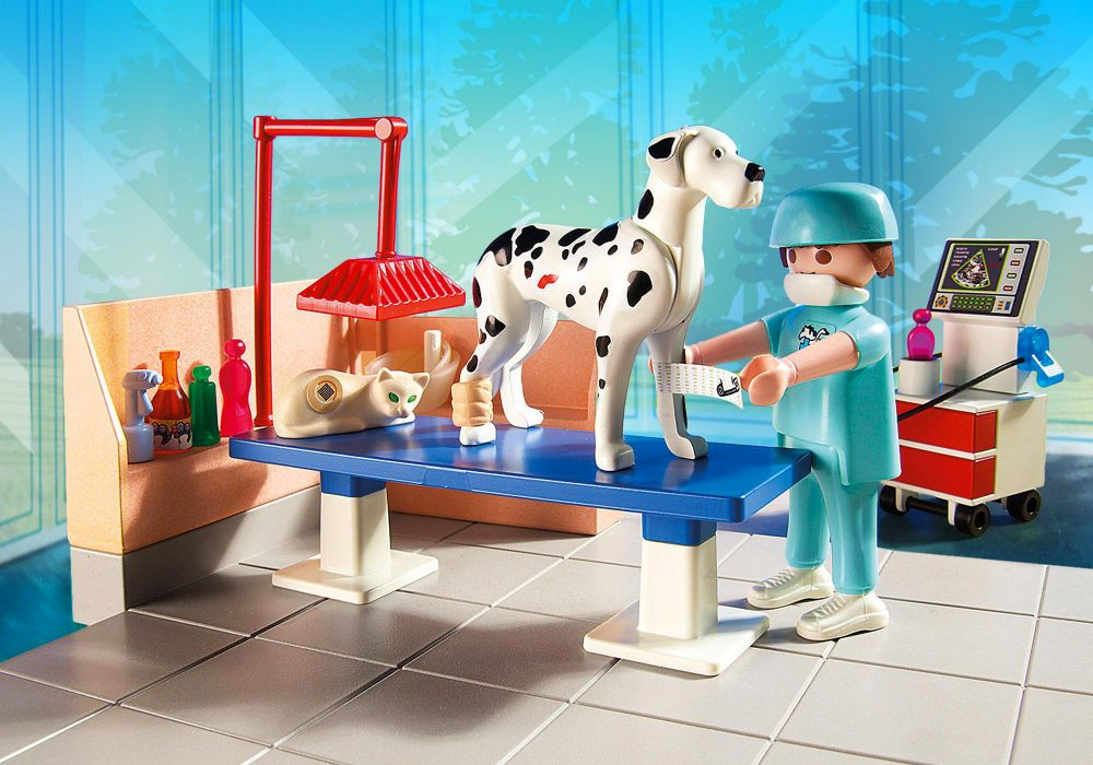 Playmobil city life 5530 pas cher chirurgien v t rinaire for Salle a manger playmobil city life