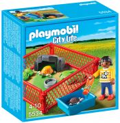 PLAYMOBIL City Life 5534 Enfant avec enclos de tortues