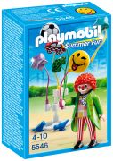 "PLAYMOBIL Summer Fun 5546 Clown avec ballons ""Smileyworld"""