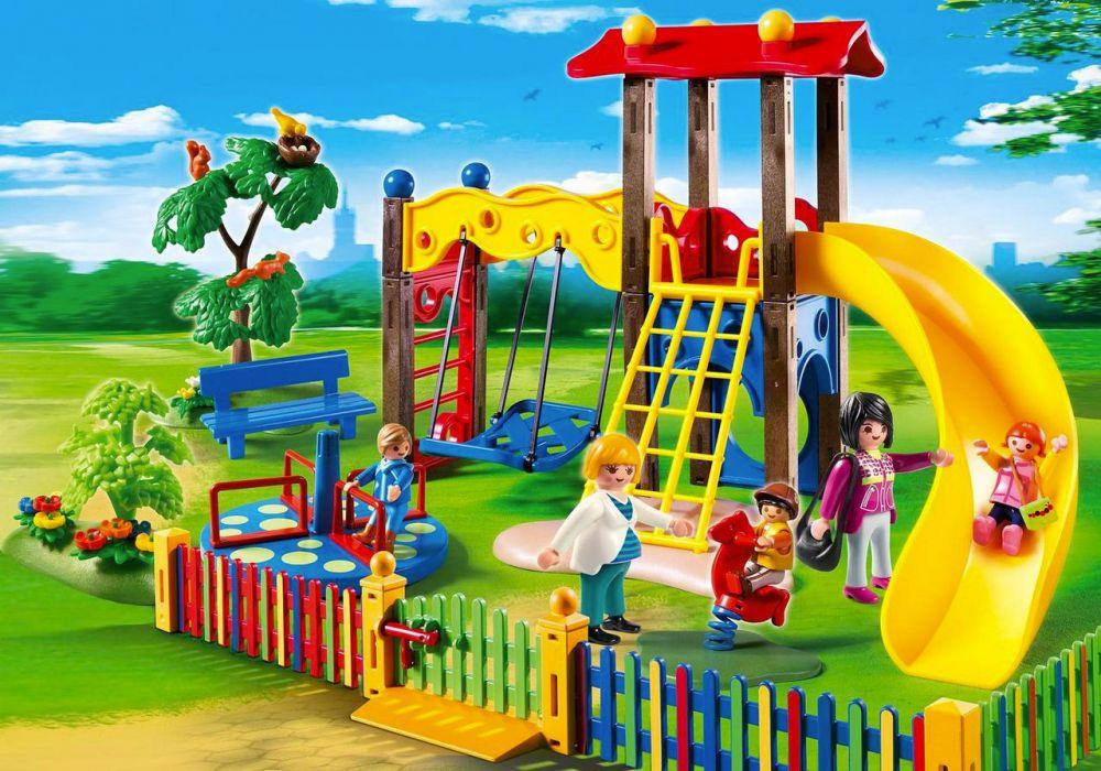 PLAYMOBIL City Life 5568 Square Pour Enfants Avec Jeux ...