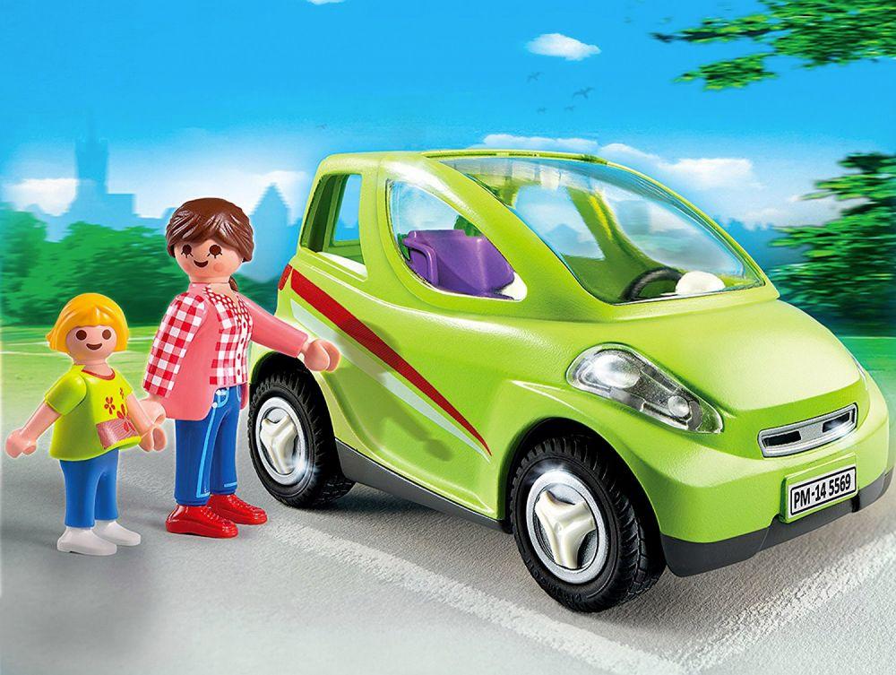 playmobil city life 5569 pas cher voiture de ville avec maman et enfant. Black Bedroom Furniture Sets. Home Design Ideas