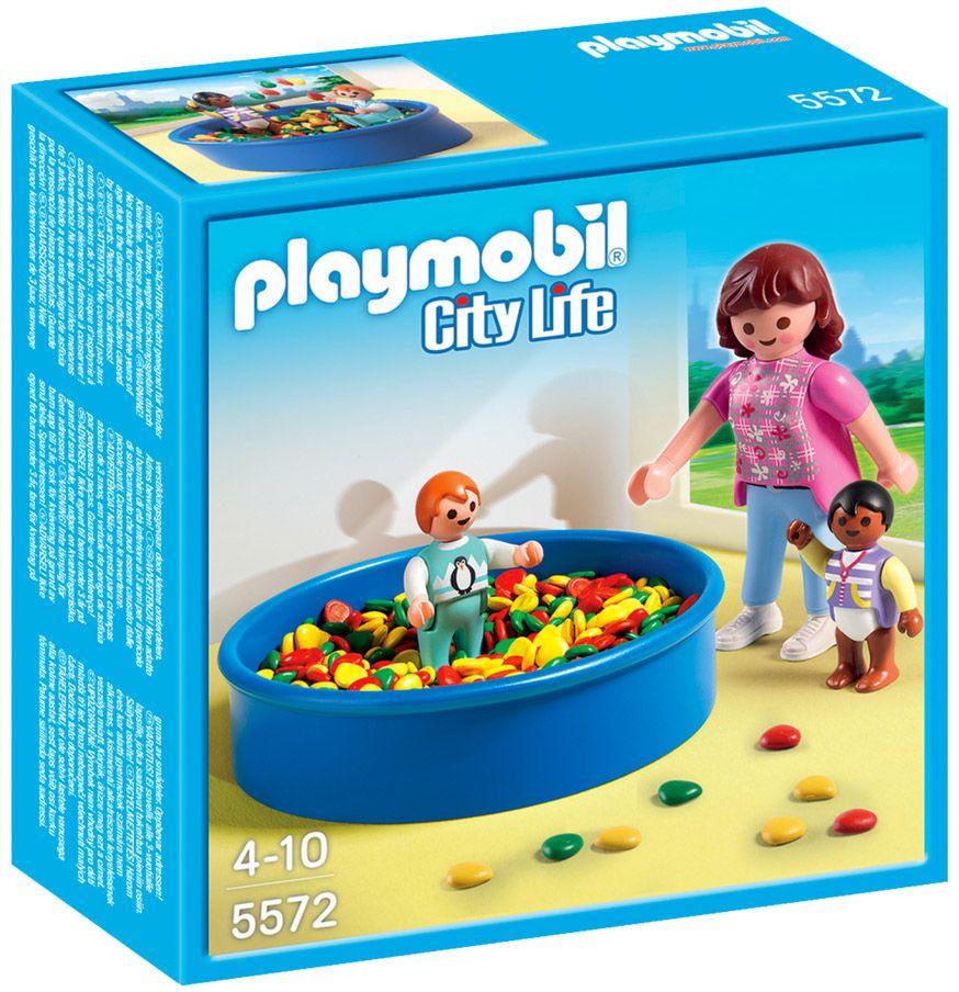 playmobil city life 5572 piscine balles pour bbs - Balle Pour Piscine A Balle Pas Cher