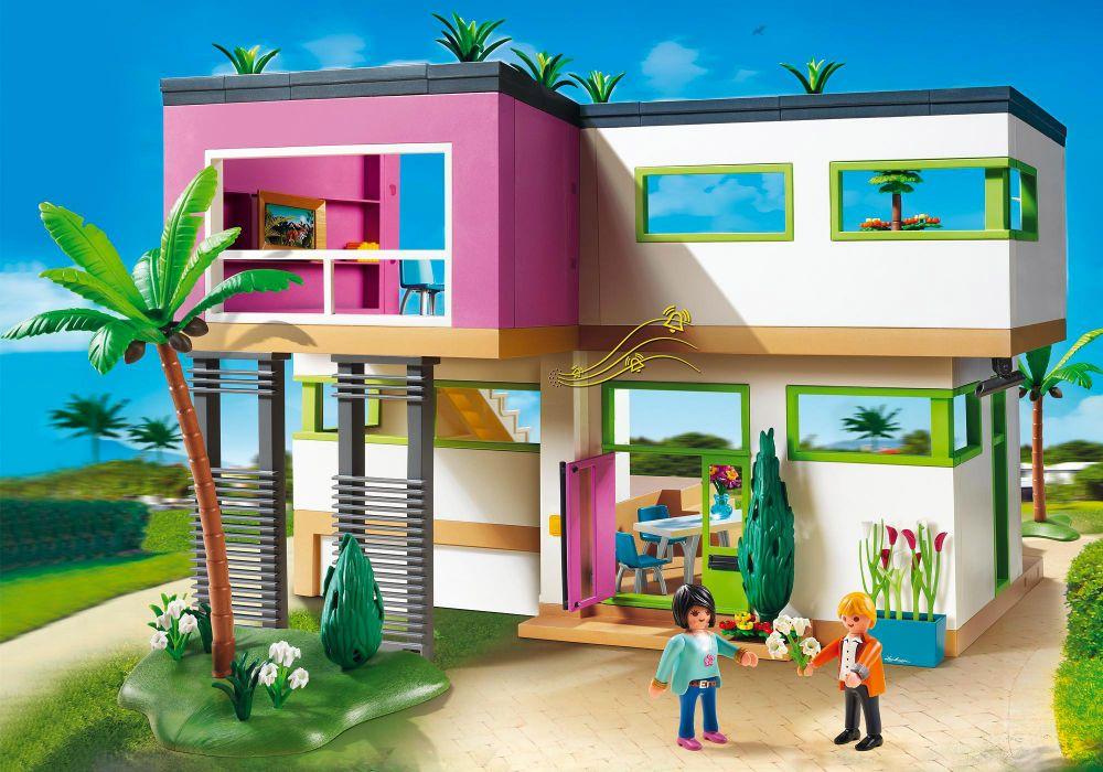 Playmobil City Life 5574 Pas Cher Maison Moderne