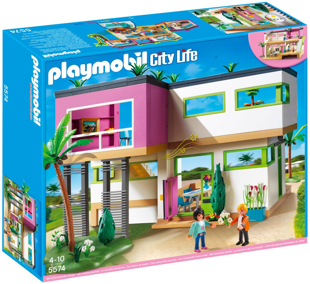 Maison moderne playmobil pas cher ventana blog for Extension maison 4279