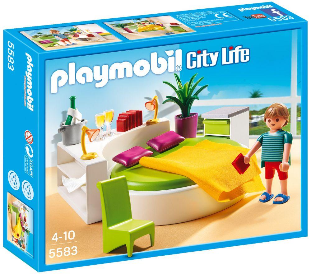 Salle De Bain Neo Frame Leroy Merlin ~ Playmobil City Life 5583 Pas Cher Chambre Avec Lit Rond