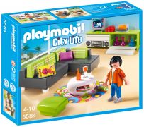 PLAYMOBIL City Life 5584 - Salon moderne pas cher