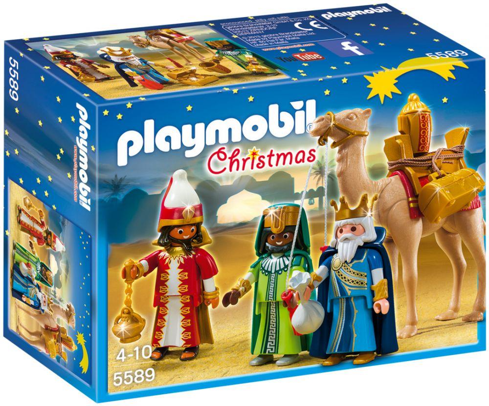 PLAYMOBIL Christmas 5589 Rois mages avec cadeaux