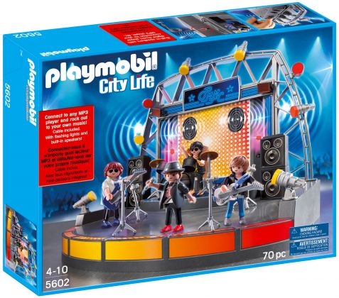 PLAYMOBIL City Life 5602 Concert de rock