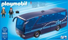 PLAYMOBIL City Life 5603 Bus des Pop Stars