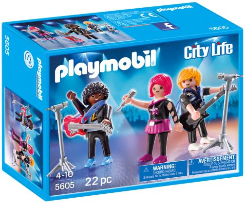 PLAYMOBIL City Life 5605 Les Pop Stars