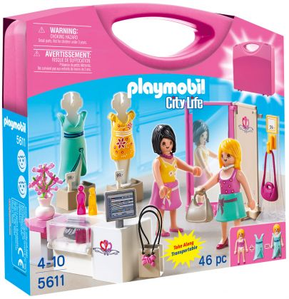 PLAYMOBIL City Life 5611 Valisette Shopping