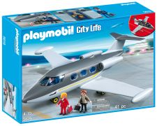 PLAYMOBIL City Life 5619 Jet Privé