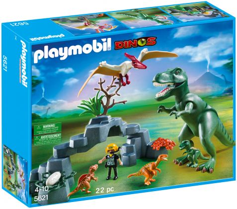 PLAYMOBIL Dinos 5621 Dino Club Set