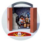 PLAYMOBIL Knights 5637 Coffre Chevalier et forgeron