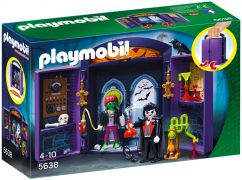 PLAYMOBIL Halloween 5638 Coffre Vampire et mutant