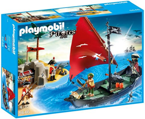 PLAYMOBIL Pirates 5646 Pirates Club Set - Edition limitée