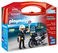 PLAYMOBIL City Action 5648 - Mallette Police pas cher