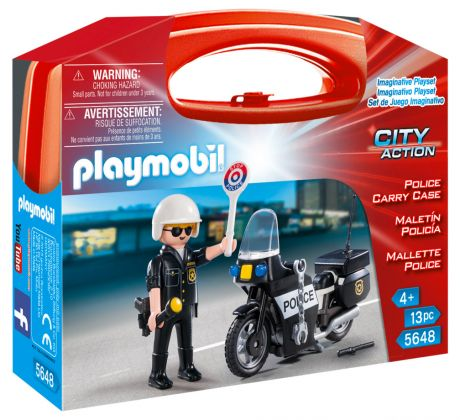 PLAYMOBIL City Action 5648 Mallette Police