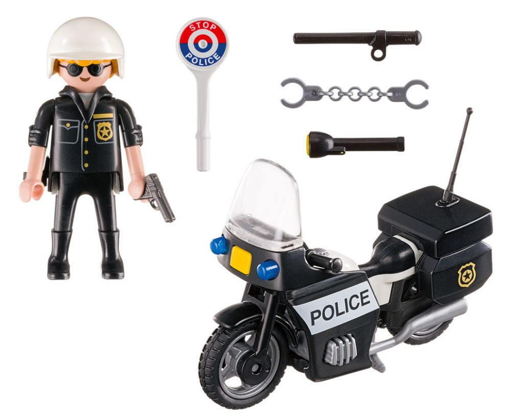 playmobil city action 5648 pas cher mallette police. Black Bedroom Furniture Sets. Home Design Ideas