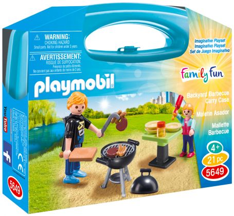 PLAYMOBIL Family Fun 5649 Malette Barbecue