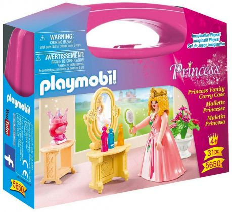 PLAYMOBIL Princess 5650 Valisette Princesse