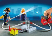 PLAYMOBIL City Action 5651 Mallette transportable de pompiers