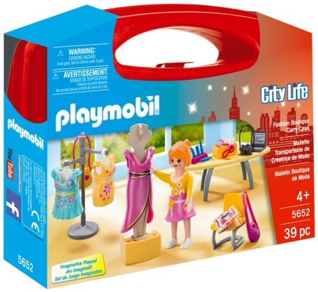 PLAYMOBIL City Life 5652 Valisette Créatrice de Mode