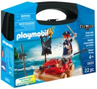 PLAYMOBIL Pirates 5655 - Mallette Transportable de Pirates pas cher