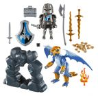 PLAYMOBIL Knights 5657 Valisette Chevaliers du Dragon