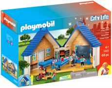 PLAYMOBIL City Life 5662 Ecole transportable