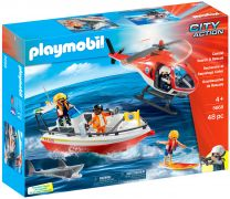 PLAYMOBIL City Action 5668 Les gardes-côtes