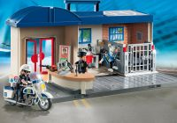 PLAYMOBIL City Action 5689 Commissariat de police transportable