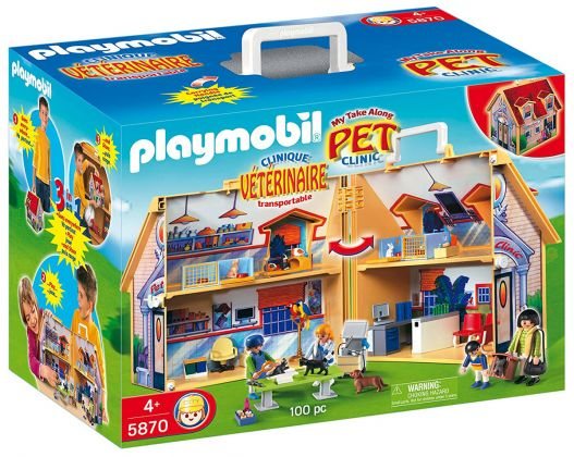 PLAYMOBIL City Life 5870 Clinique vétérinaire